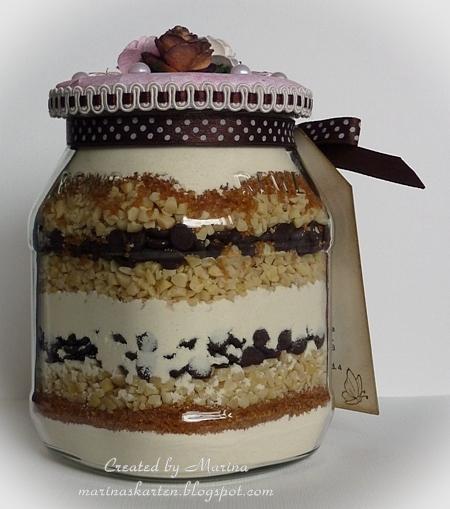 cake mix in a jar. Black Bedroom Furniture Sets. Home Design Ideas