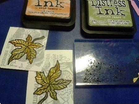 Vilda herfstblad 3