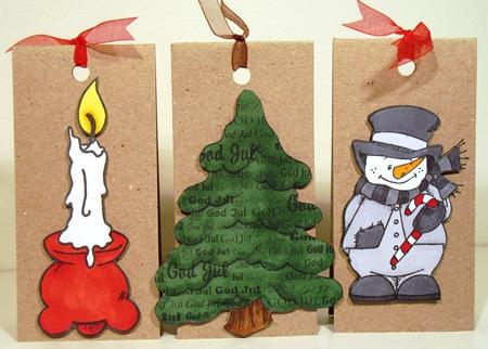 Jultags färglagda