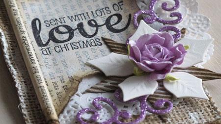 Send with lots of love tag DT Vilda Stamps detail2