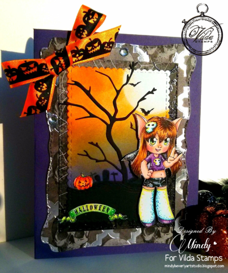vilda-bat-girl-card